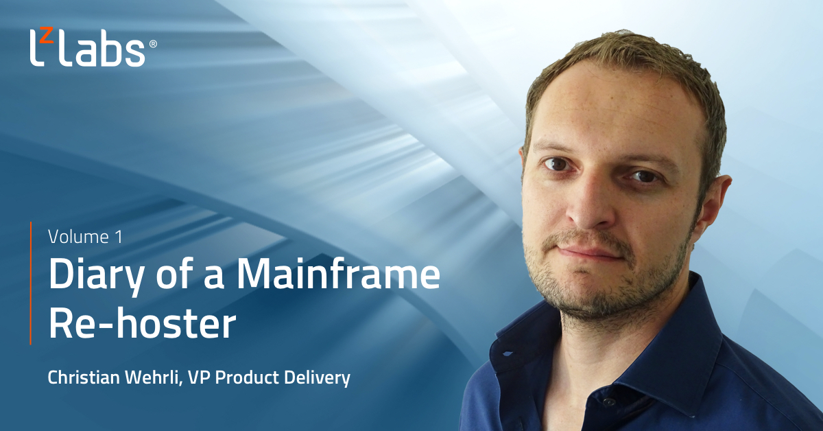 Diary of a mainframe rehoster volume 1: the challenge of going paperless with legacy apps