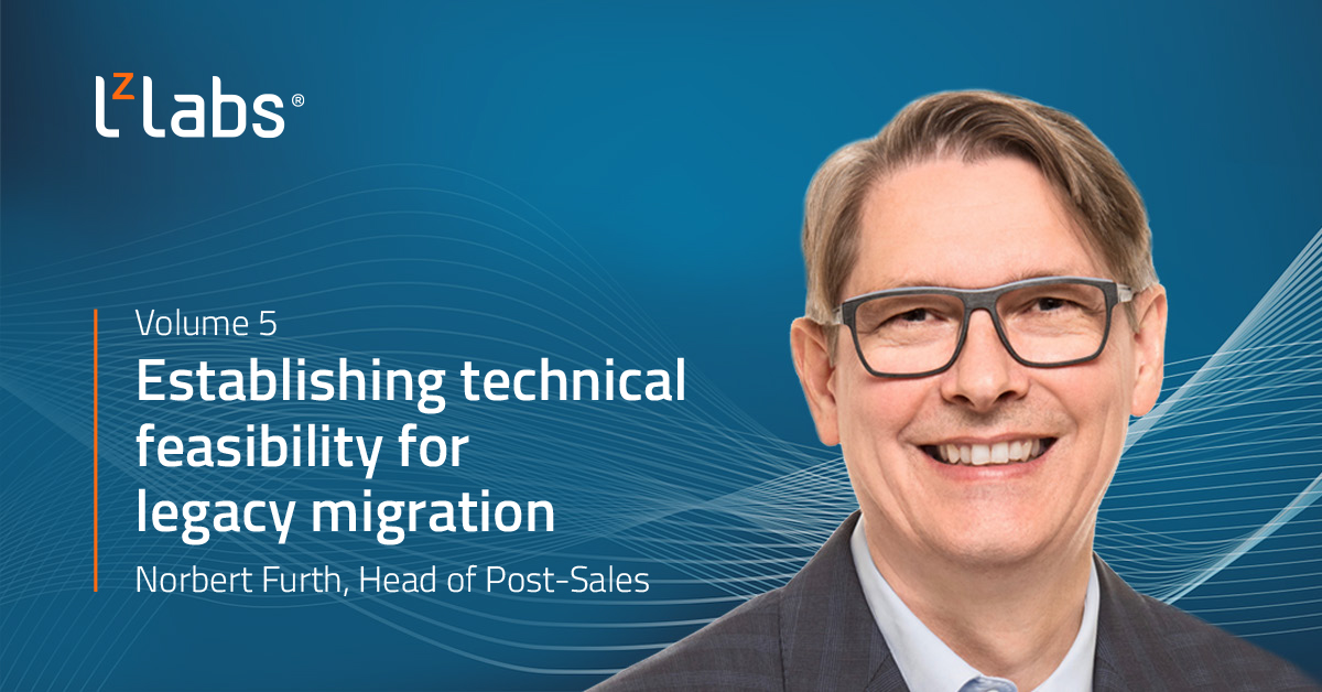 Establishing technical feasibility for legacy migration